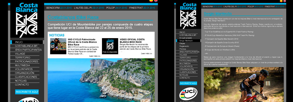 COSTABLANCA BIKE RACE